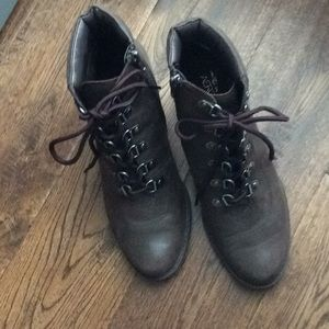 Aerosoles Lace Up Booties